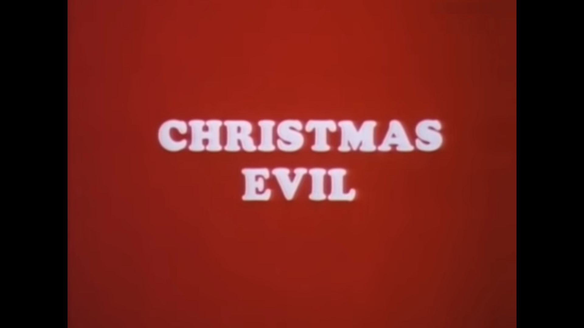 Christmas Evil 1980.Wicked Wednesday Christmas Evil You Better Watch Out 1980