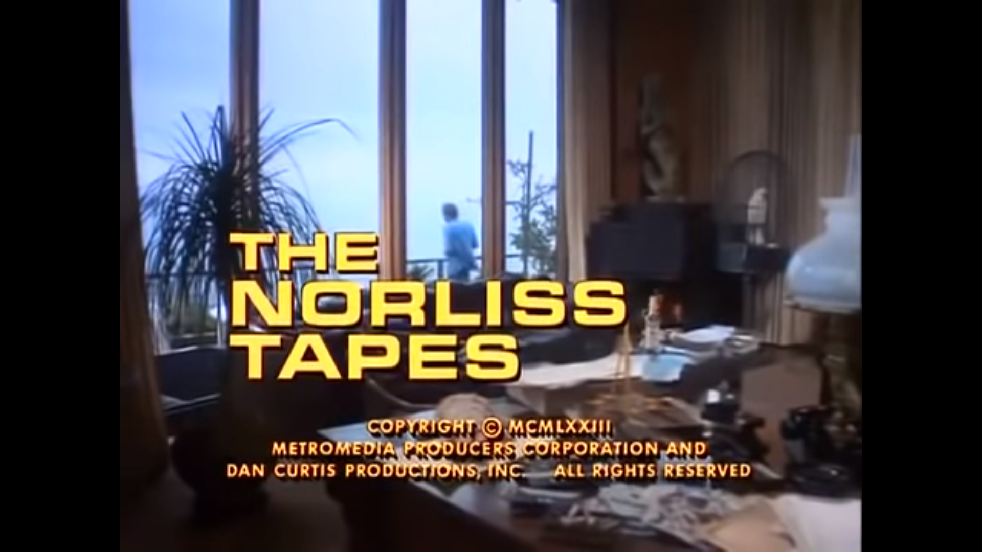 Wicked Wednesday: The Norliss Tapes (1973) | American of London